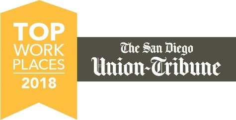 San Diego Union-Tribune Names Teradata a 2018 Top Workplace