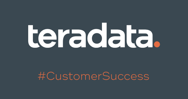 customer success slate Teradata: Stop Buying Analytics