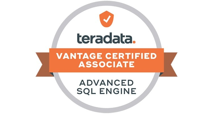 Teradata Vantage Certified Associate - Advanced SQL Engine
