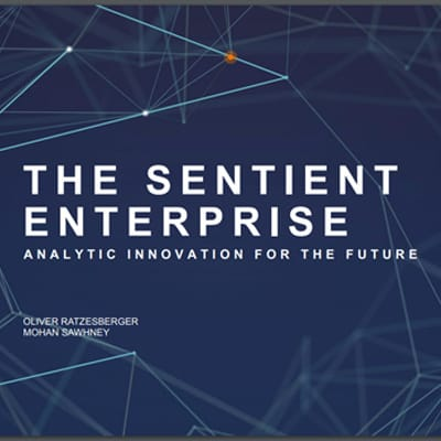 Big data - The Sentient Enterprise: Analytic Innovation for the Future