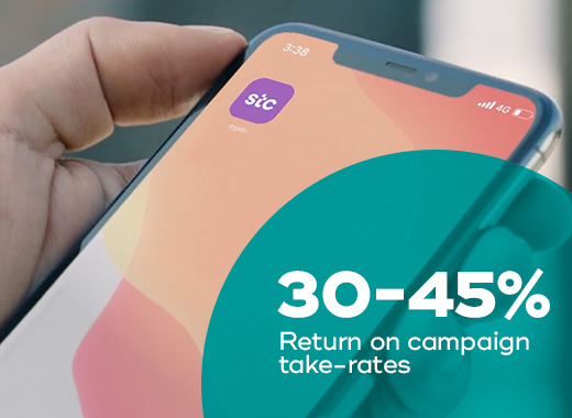 stc sees a substantial return in customer take rates of its offers