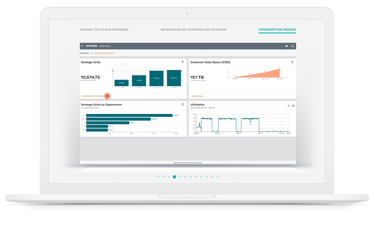 Take the Demo - see cloud data and analytics in action.