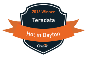 Teradata HOT in Dayton Award