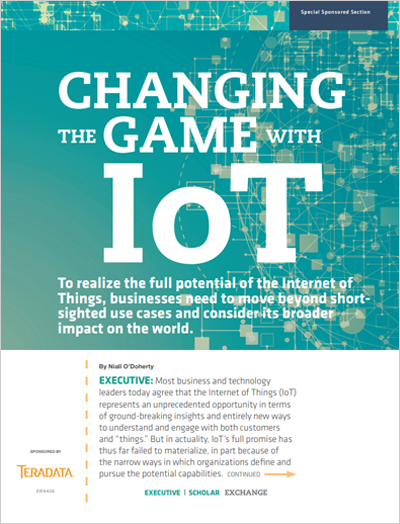 Changing the Game with IoT