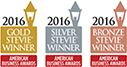 2016 Stevie Gold, Silver, Bronze