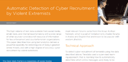 Automatic Detection of Cyber Recruitment by Violent Extremists