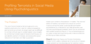 Profiling Terrorists in Social Media Using Psycholinguistic Profiling
