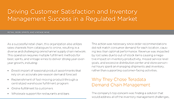 Driving Customer Satisfaction and Inventory Management Success in a Regulated Market