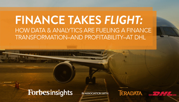 Finance Takes Flight: How Data and Analytics is Fueling a Finance Transformation - and Profitability - at DHL