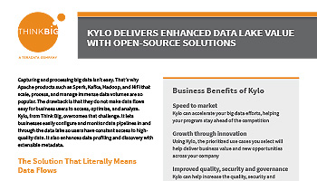 Kylo Delivers Enhanced Data Lake Value with Open-Source Solutions