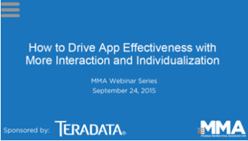 How to Drive App Effectiveness with More Interaction and Individualization