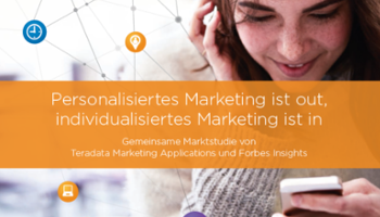 Personalisiertes Marketing ist out, individualisiertes Marketing ist in