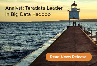 Teradata a Leader in Big Data Hadoop- Optimized Systems